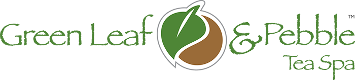 Green Leaf & Pebble Tea Spa Logo